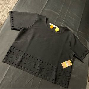 Black bandage Rachel Roy Shirt